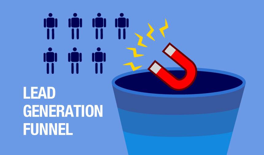 trovare nuovi clienti lead generation funnel