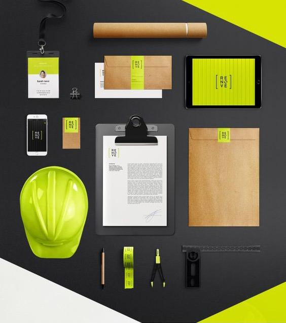 immagine-coordinata-aziendale-verde-acido