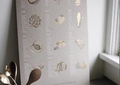 stampa-calendari personalizzati muro oro caldo stampa digitale milano
