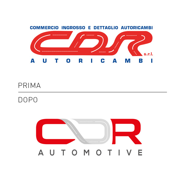 restyling logo autoricambi