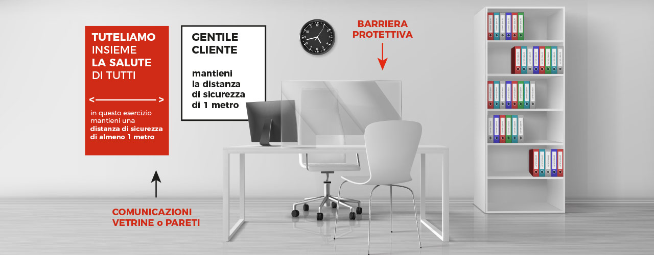 Barriera di sicurezza parafiato