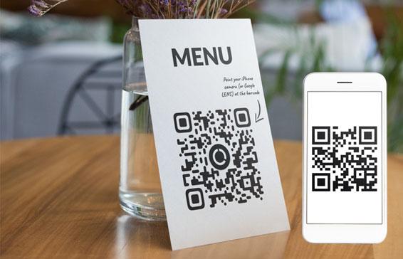 menu digitale QR code