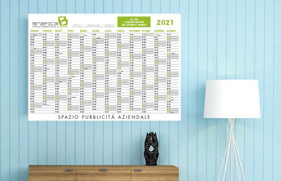 stampa calendari personalizzati formato anno